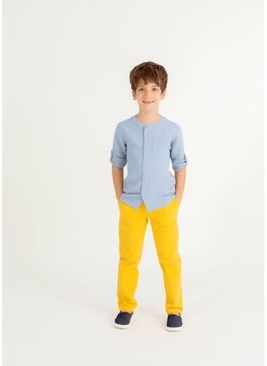 Pinolini Basic Chino Pantolon Sarı